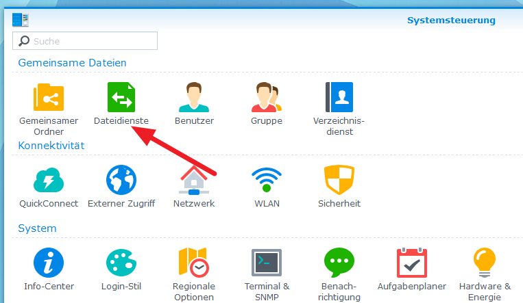 Synology-Dateidienste-1